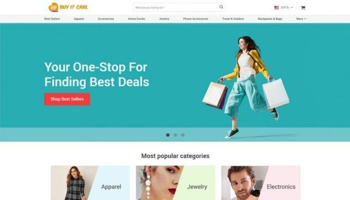 Продажа электронной коммерции: сравнение магазинов AliDropship
