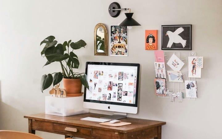 Вдохновение домашнего офиса: забавные идеи для прохладной установки