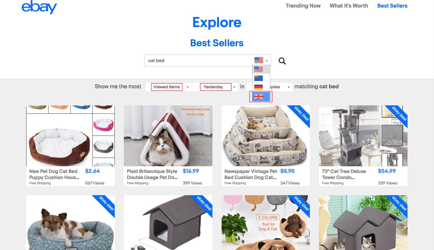 Горячие продажи товаров на eBay: как использовать их в своих интересах