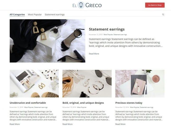 WooCommerce Store Тема: Познакомьтесь с Эль Греко Ву от AliDropship!