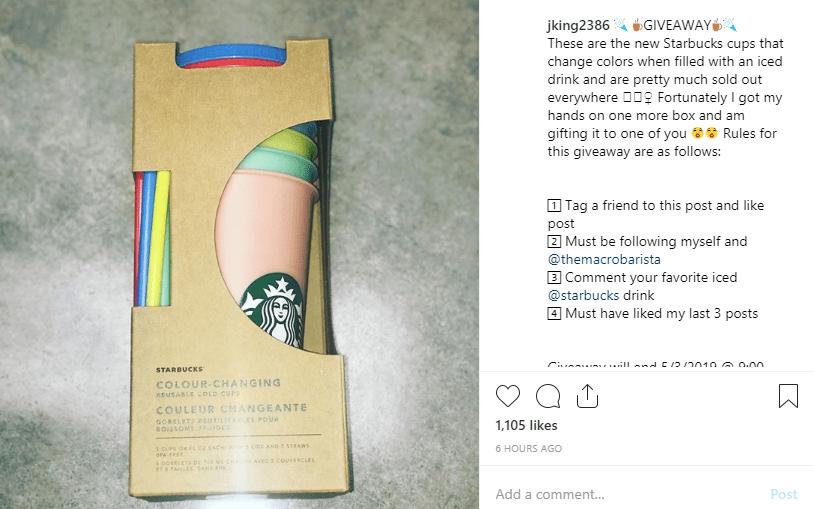 10 отличных идей для бесплатной раздачи в Instagram в 2019 году
