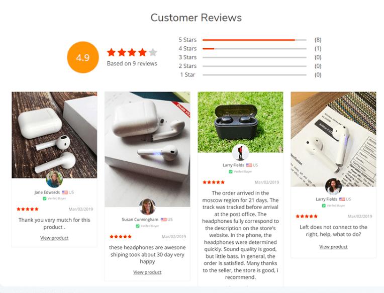 Вот как страница отзывов покупателей может ускорить рост вашего магазина!