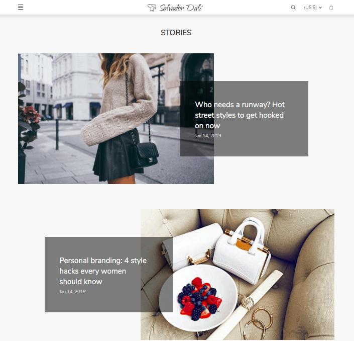 Встречайте Дали: бесплатная тема Wordpress для вашего магазина Dropshipping