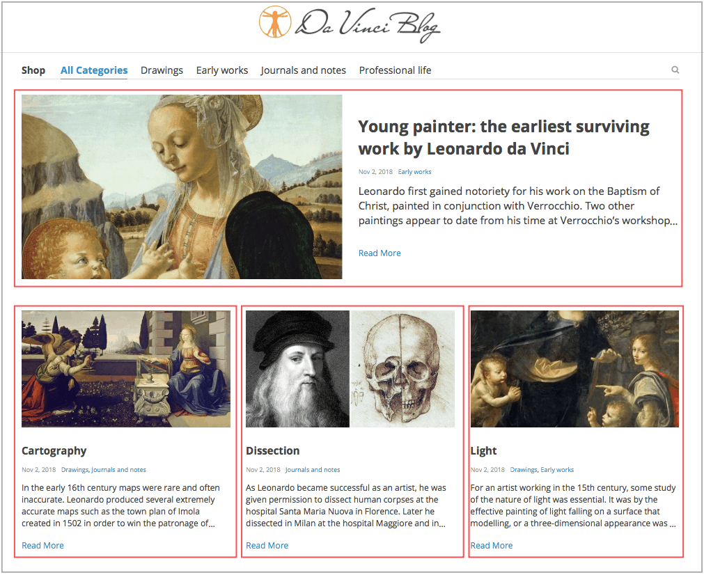 Раздел блога интернет-магазина на сайтах AliDropship получил модное обновление!