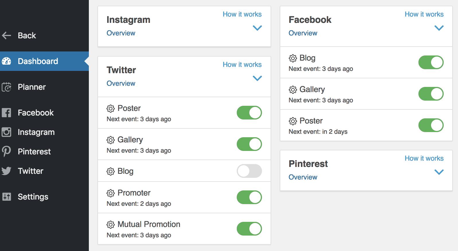 Инструмент автоматизации социальных сетей для простого продвижения