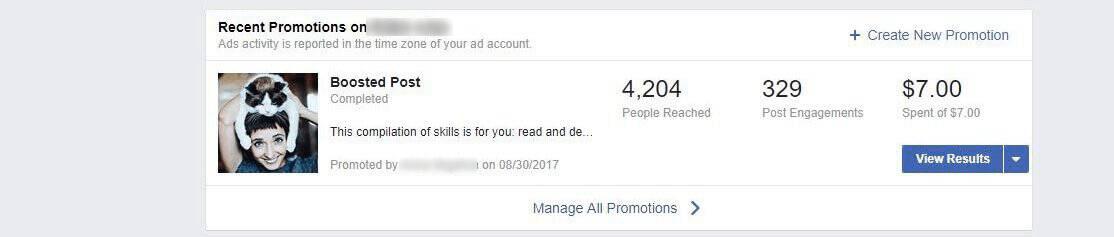 Как увеличить публикацию на Facebook за 7 долларов и привлечь более 4500 человек