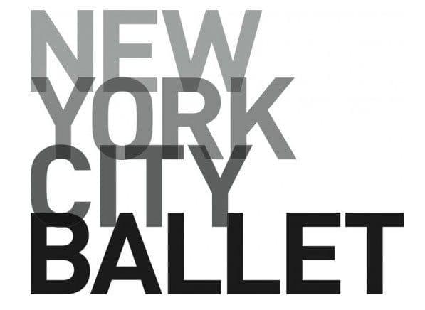 Пример дизайна логотипа New York City Ballet
