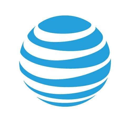 Пример дизайна логотипа AT&T
