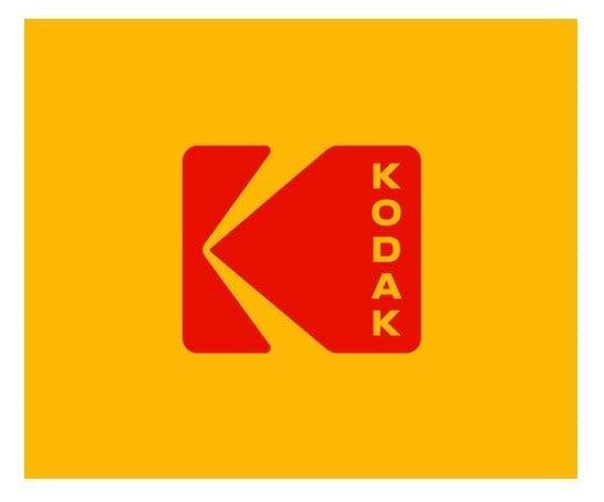 Пример дизайна логотипа Kodak
