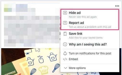 Насыщенность аудитории Facebook