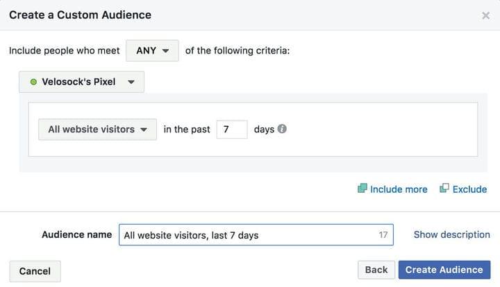 Как подготовить аудиторию для ретаргетинга в Facebook