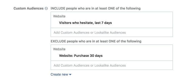 Реклама в Facebook с ретаргетингом на индивидуализированную аудиторию