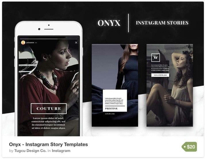 Шаблон истории Luxury Business Instagram