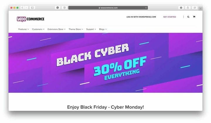 Черная пятница на WooCommerce