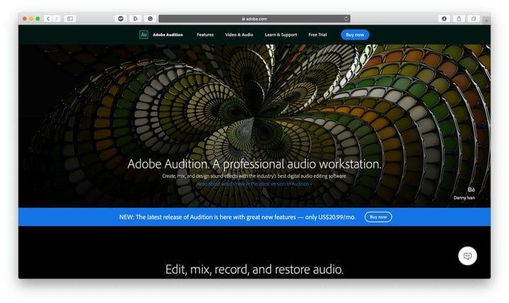 Редактирование подкастов Adobe Audition
