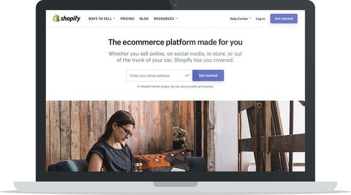 Лучшая платформа для электронной коммерции Shopify