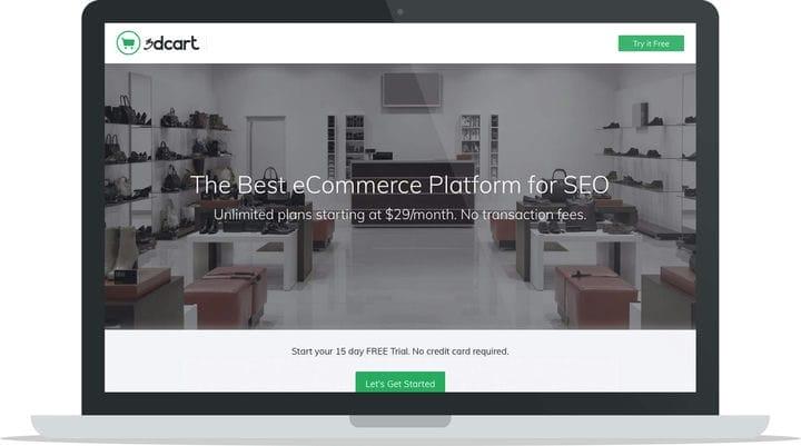Платформа электронной коммерции на базе 3DCart