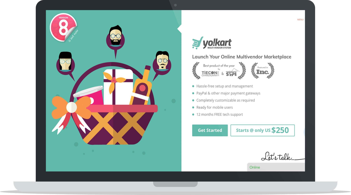 Лучшая онлайн-платформа для электронной коммерции YoKart