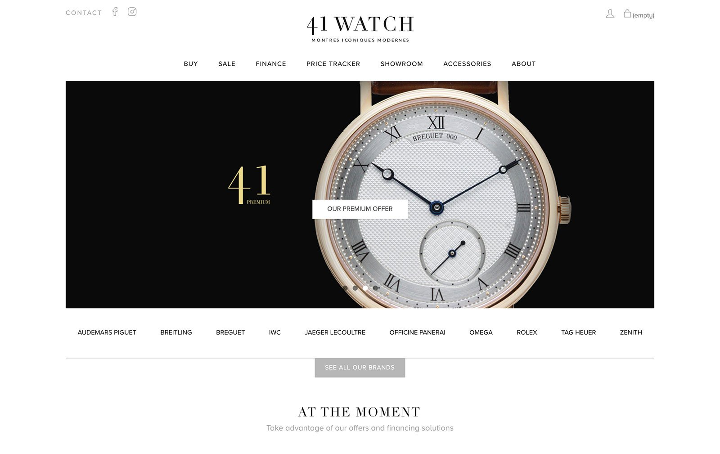 41 Смотреть веб-сайт электронной торговли