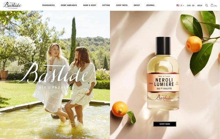 Дизайн веб-сайтов электронной коммерции Bastide