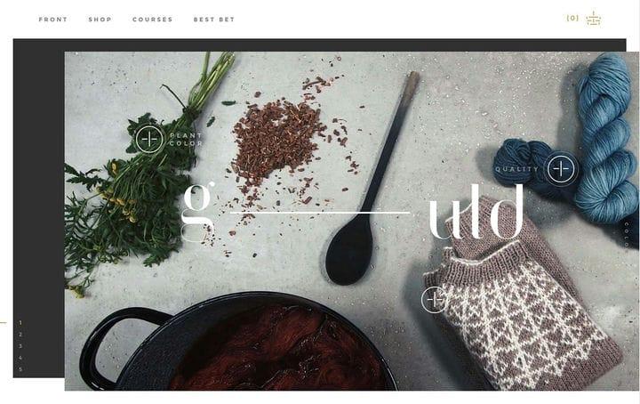 G-Uld Ecommerce Website Design
