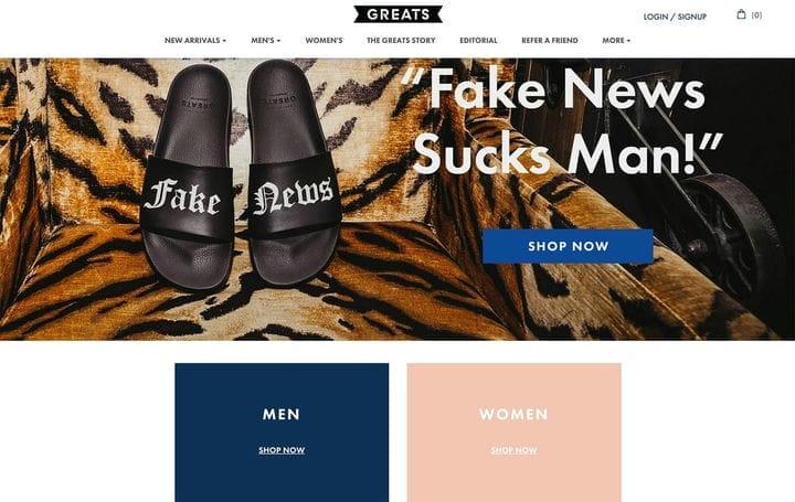 Великий дизайн веб-сайтов электронной коммерции