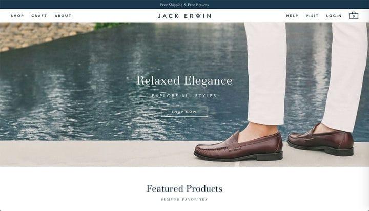 Джек Ирвин Дизайн веб-сайтов электронной коммерции