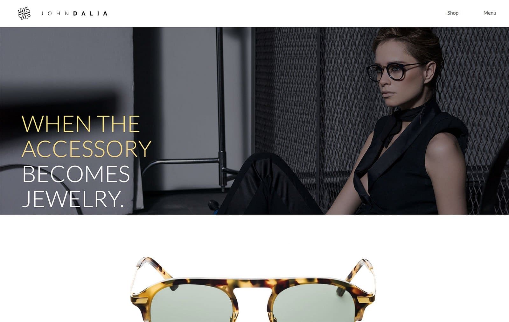 Джон Далия Дизайн веб-сайта электронной коммерции