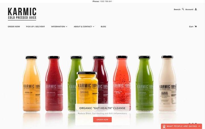 Кармический дизайн сайта электронной коммерции