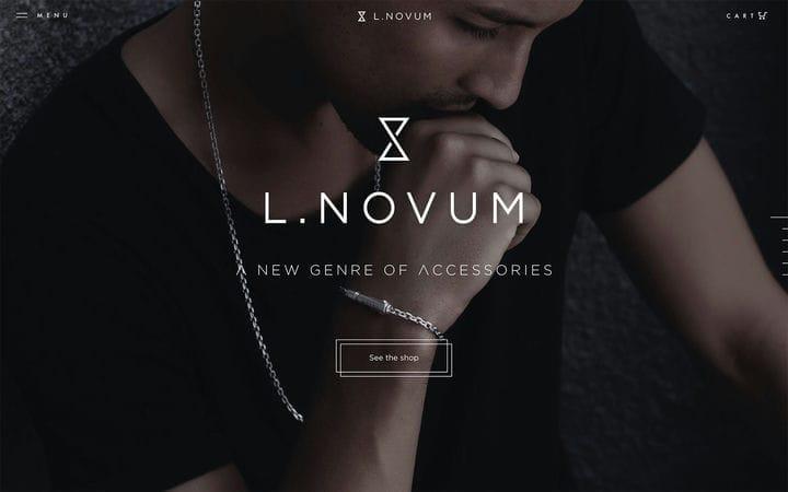 L.Novum Дизайн веб-сайта электронной коммерции