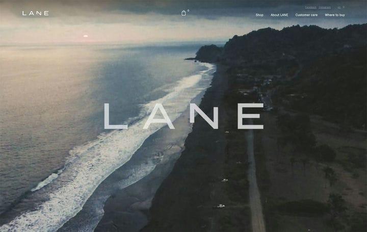 Дизайн веб-сайтов электронной коммерции Lane
