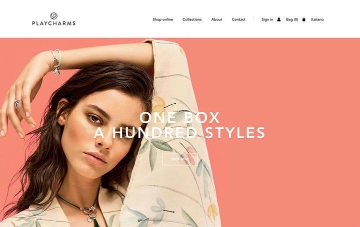 Дизайн веб-сайтов электронной коммерции Playcharms