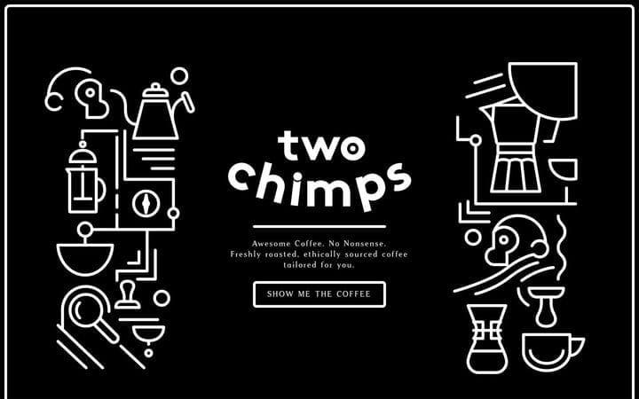 Дизайн веб-сайта электронной коммерции Two Chimps