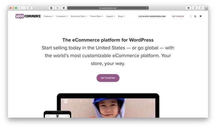 Платформа электронной коммерции WooCommerce