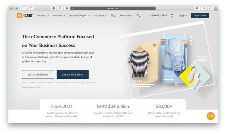 Платформа электронной торговли X-Cart