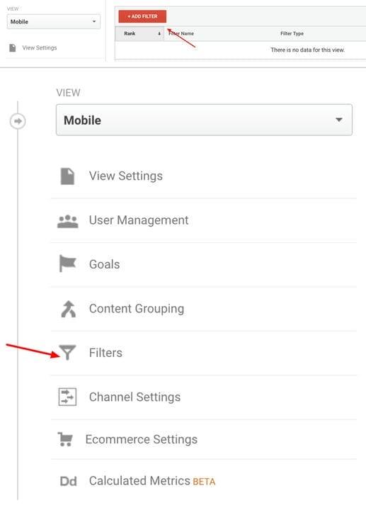 Создавайте новые фильтры в Google Analytics