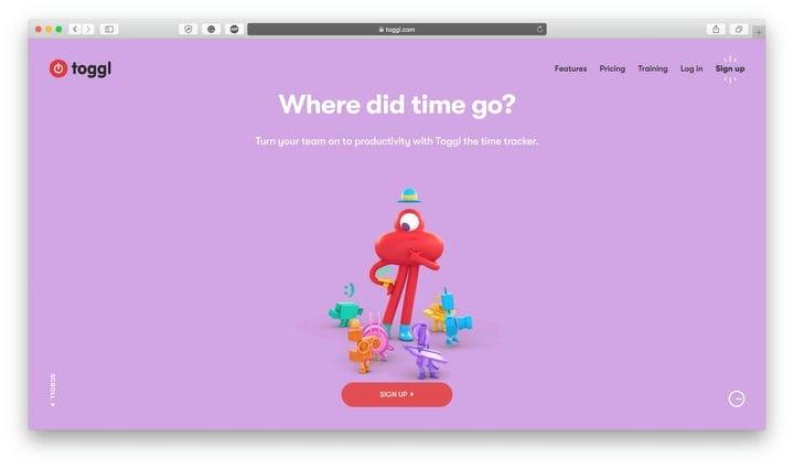 Toggl Лучшие приложения для управления временем