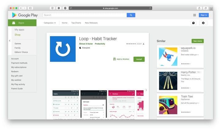 Приложение Loop Habit Tracker