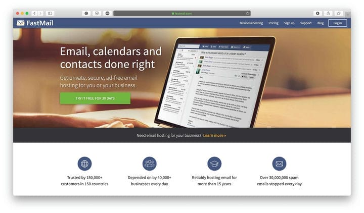 FastMail Web Security