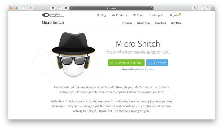 Безопасность электронной торговли MicroSnitch