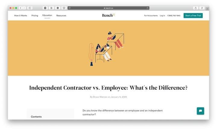 Верстаковые подрядчики против сотрудников