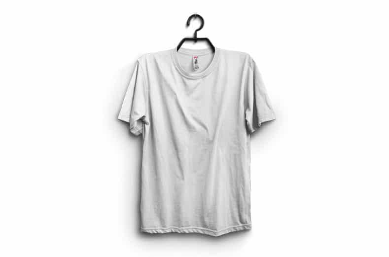 Мокап шаблонов подвесных футболок
