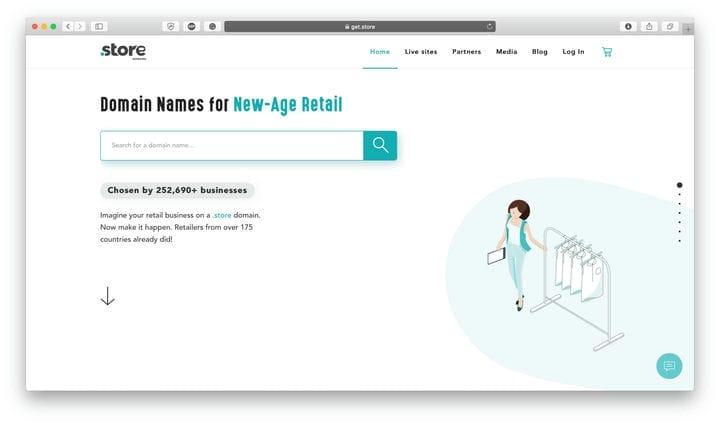 Обзор доменов .STORE: брендовые домены для предприятий розничной торговли в Интернете