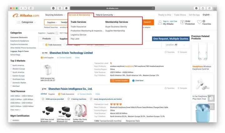 Обзор Alibaba: полное руководство по поиску продуктов на Alibaba