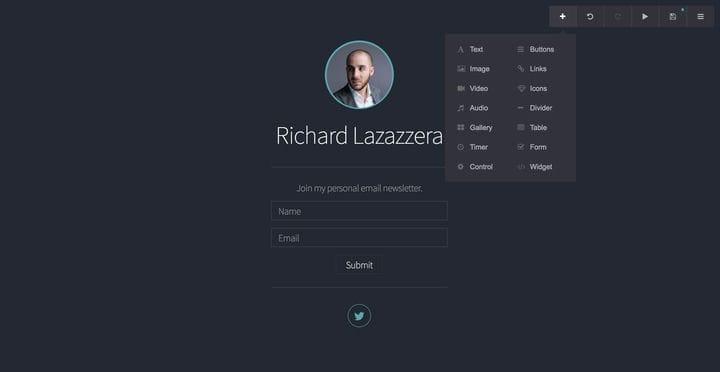 Обзор Carrd: создавайте простые и красивые целевые страницы
