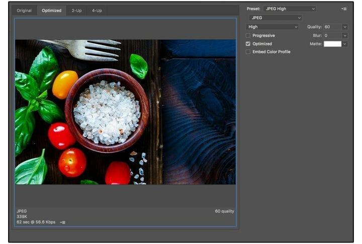 Оптимизация изображений для Интернета: пошаговое практическое руководство
