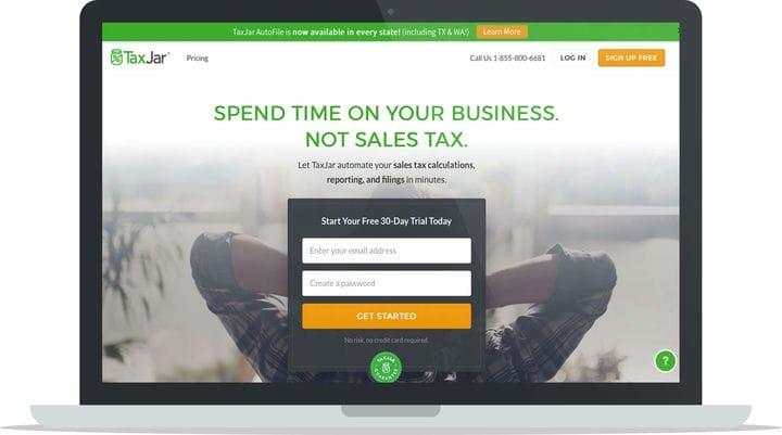 Обзор TaxJar: простые налоговые декларации с продаж для бизнеса