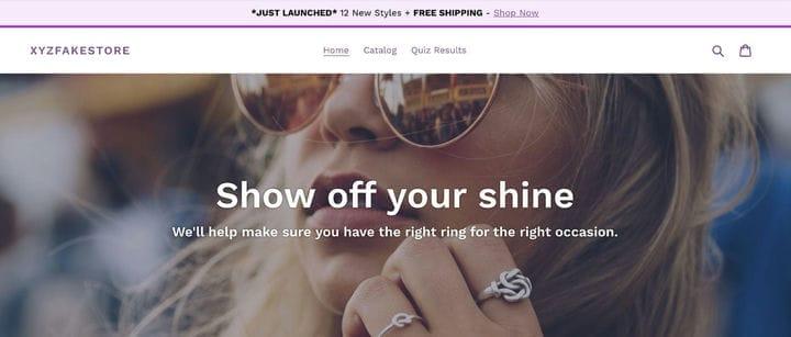 Как создать код для собственной панели объявлений | Shopify Настройка сайта