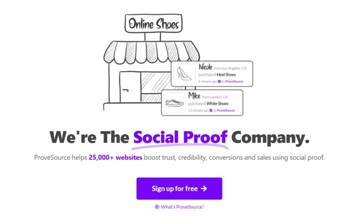 Обзор ProveSource: создайте ощущение загруженности магазина с помощью социальных доказательств