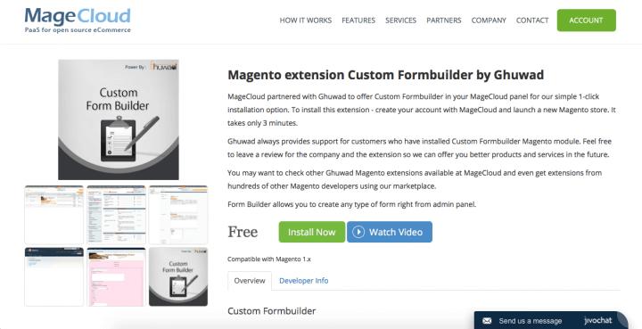 6 лучших расширений для создания форм для Magento 2 в 2018 году